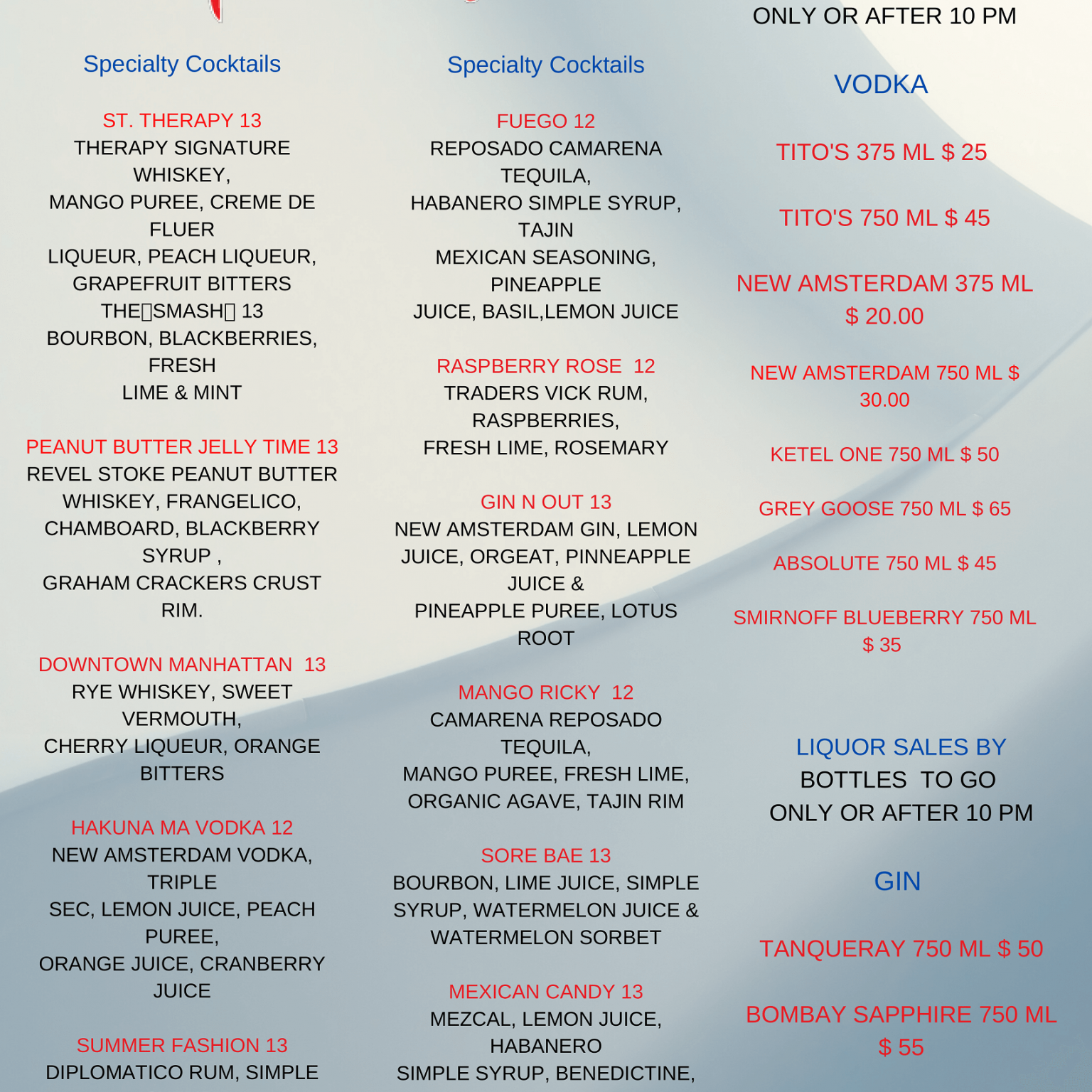 MENU BEVERAGE DINE IN AND TAKE OUT 5-29-20-3