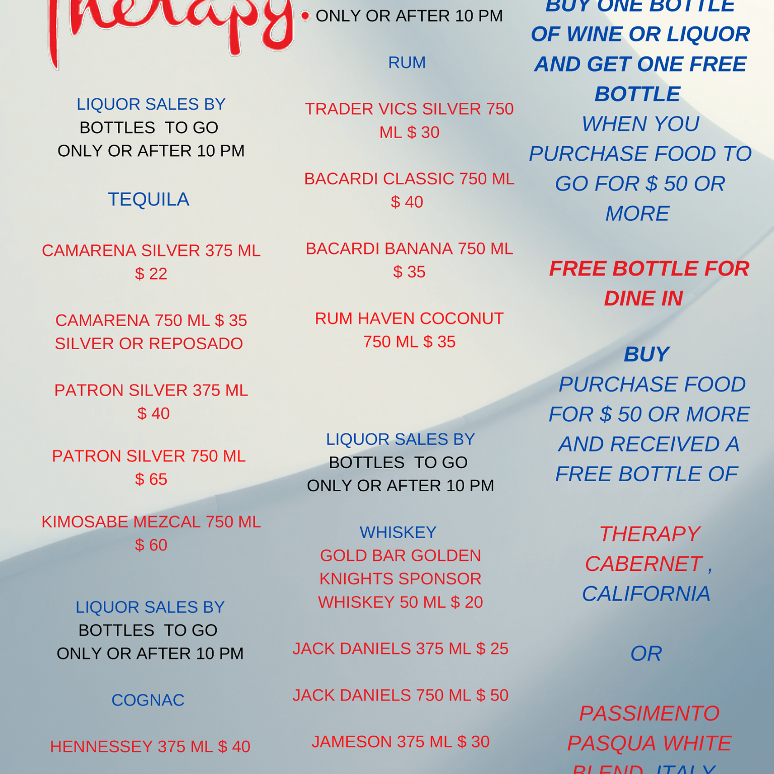 MENU BEVERAGE DINE IN AND TAKE OUT 5-29-20-4