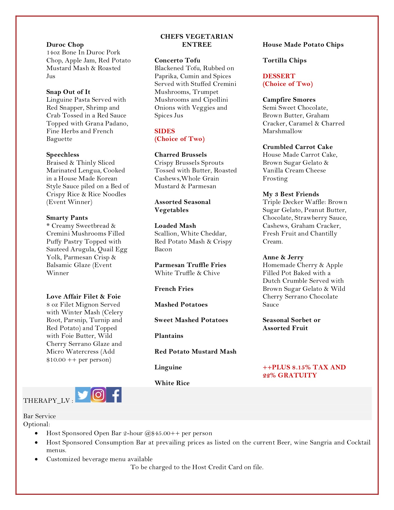 Therapy -Group Menus October  2019 (2)